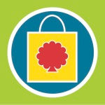 Retail shopping bag graphic