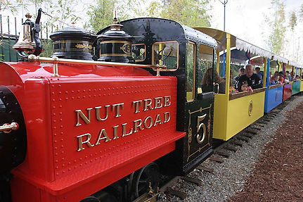 Side picture of Nut Tree Number 5 Train