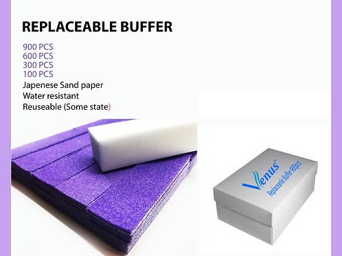 Venus disposable Buffer 900 pcs