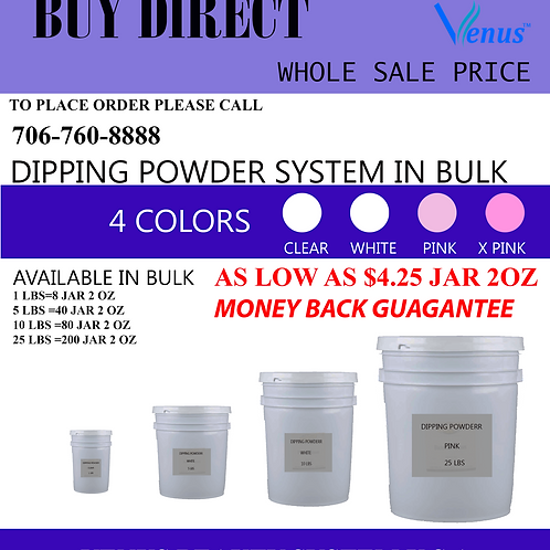 DIPPING POWDER  1 LBS  wholesale price exclusively