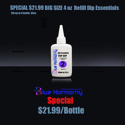 Blue Harmorny BIG SIZE 4 oz  Refill Dip Essentials #2