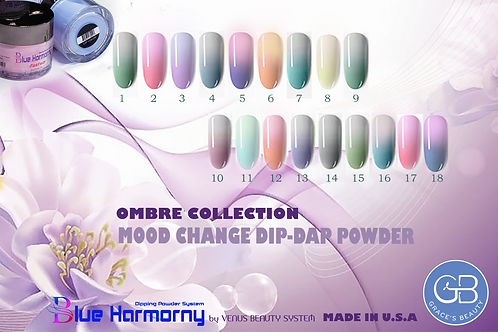 Blue Harmorny Ombre Dip Heat Activated 18 colors ONSALE NOW