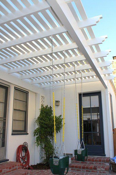 customized pergola