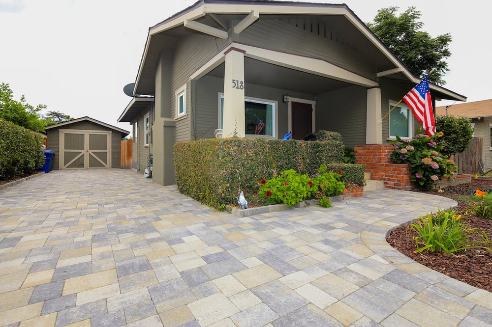 install new pavers