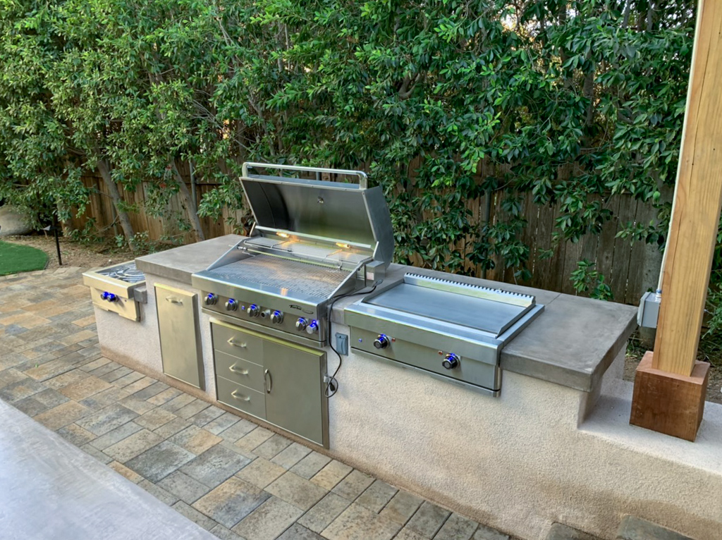 Outdoor Kitchen Installation