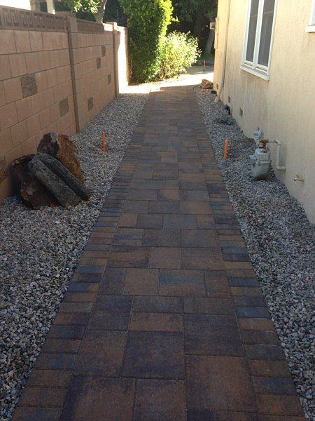 paver installation ideas