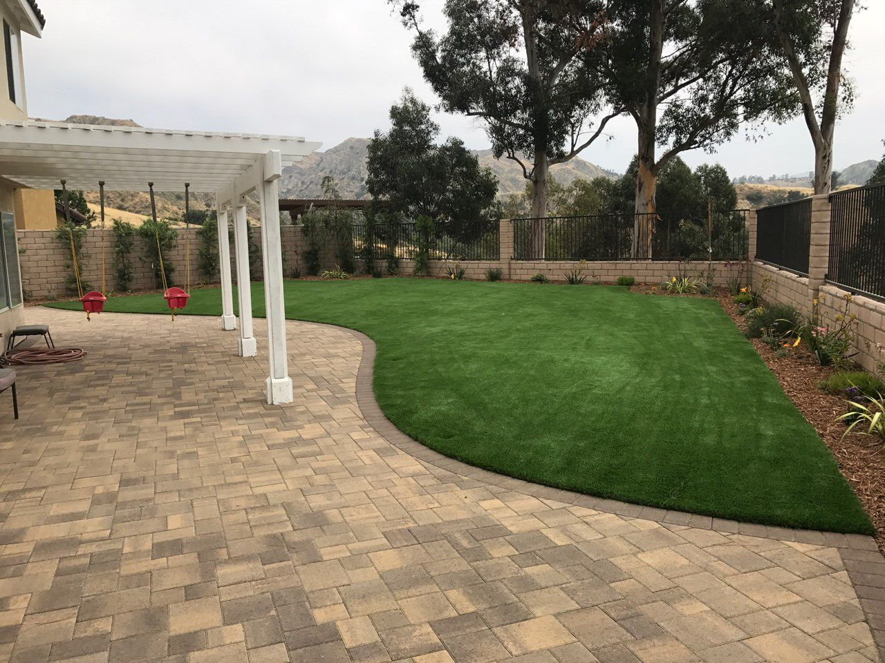 family outdoor space