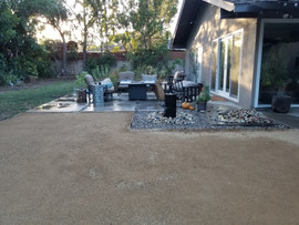 patio installation