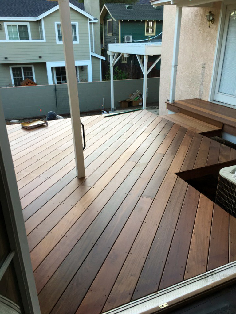 custom deck installation
