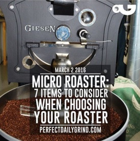 Which coffee roaster? Choosing a machine in 7 steps
