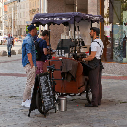 coffee-cart-serving-hand-roasted-coffee