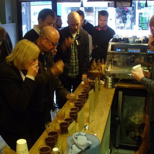 Tunbridge Wells coffee cupping