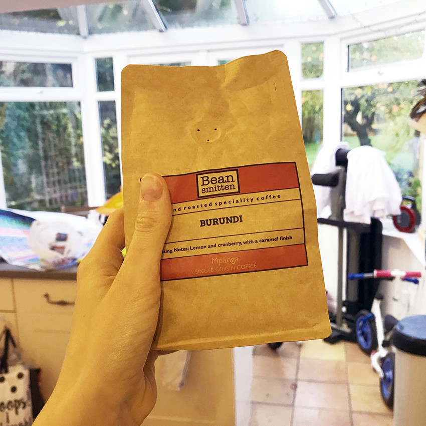 Bag of Burundi Mpanga Coffee Beans