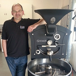 Former accountant turns coffee roaster