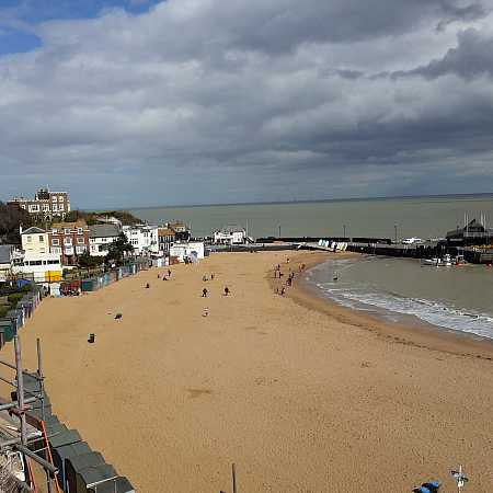 Broadstairs - News of our lovely coffee has reached the Kent coast