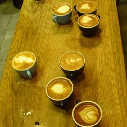 Freestyle latte art Tunbridge Wells