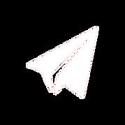 avion en papier blanc