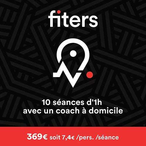 pass Fiters 10 Séances
