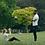 coach et utilisatrice Fiters en séance de sport dans un parc