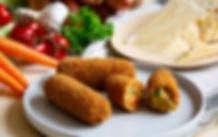 Biologische groente/Parmezaan kroket