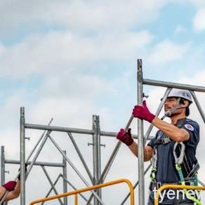 【新聞】「營造好YOUNG職安」觀摩會 創造建設安全優質形象