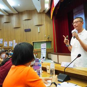 【新聞】吳若權演講正能量 勞動部助求職受阻者突破逆境