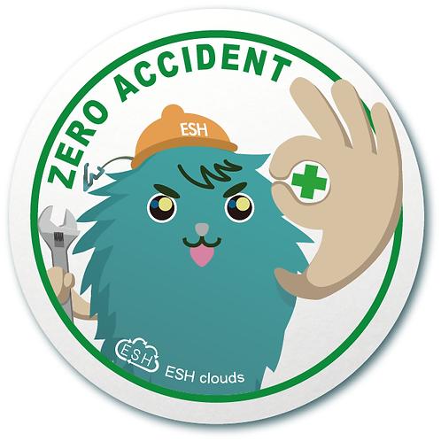 零災害宣導 Zero Accident - 標語貼