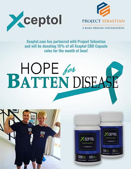 Xceptol 15% reduction in capsules banner.