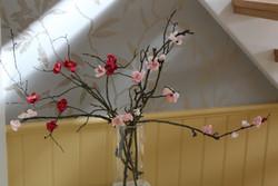 Cherry branch in vase.JPG