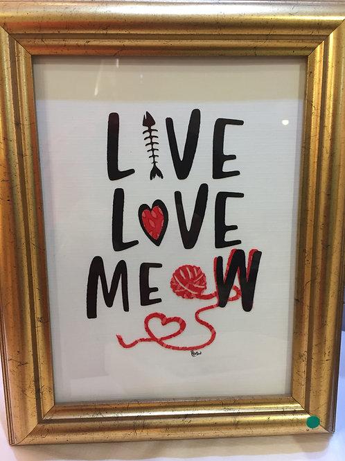 Live Love Meow