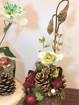 Christmas arrangement workshop on 5th December