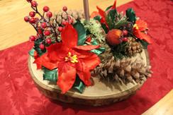Christmas arranagements on 5th December