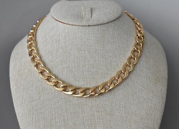 Collar Cadena Cubana Chunky