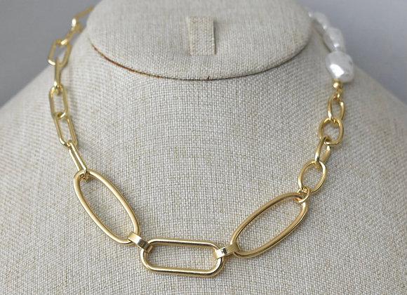Collar Combinado Perlas