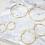 Thumbnail: Arracadas Chapa de Oro