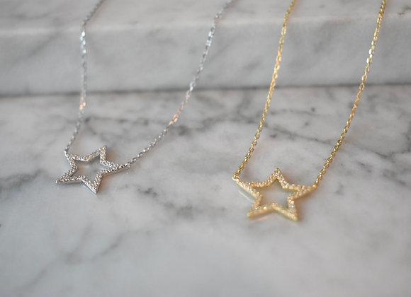 Collar Estrella Circonia