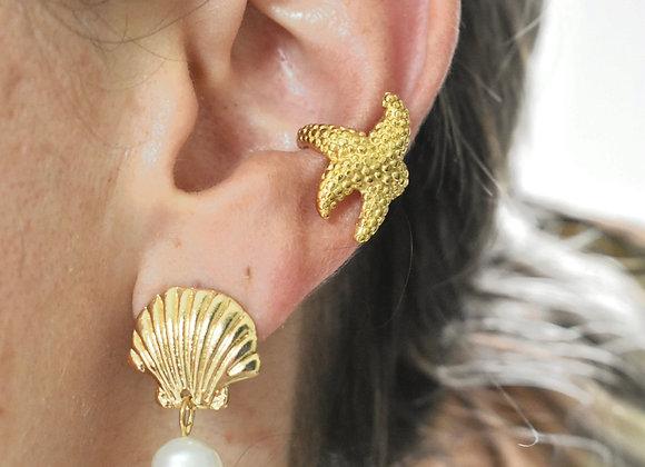 Ear Cuff Estrella Mar