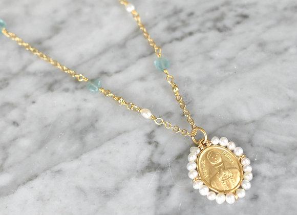 Medalla Virgen de Fátima Bordado