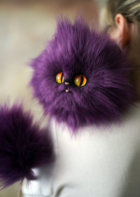 Purple  Puffskein, IN STOCK!