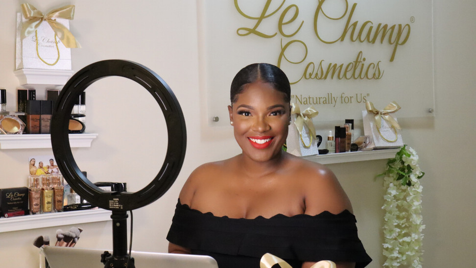 Loop News Feature on Le Champ Cosmetics!