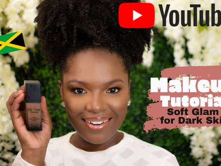 Makeup Tutorial - Soft Glam for Dark Skin                                     by Le Champ Cosmetics
