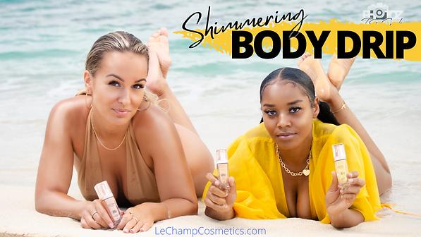 Le Champ Cosmetics Vegan Setting Spray Jamaican Makeup Brand Dark Skin Shanique Ellington LeChampCosmetics Vegan Woman Pretty Jamaica Kingston LCC Body Drip LeChampCosmetics