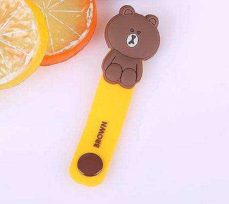 Wire Organizer - Brown Bear