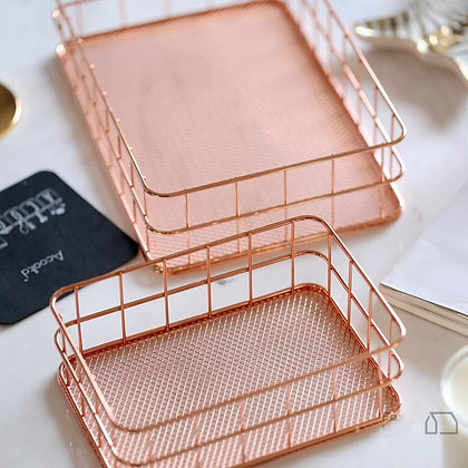 Rose Gold Basket