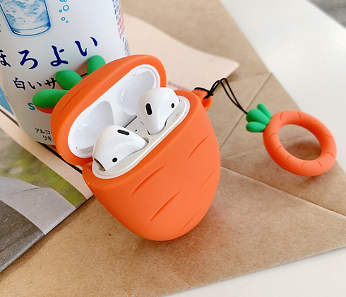 AirPods Case - Carrot
