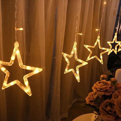 LED Star Lights - 10 Strings