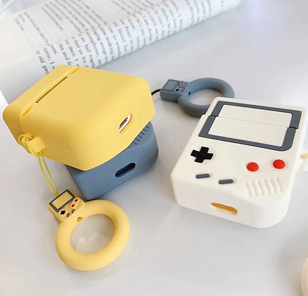 AirPods Case - Video Game - White