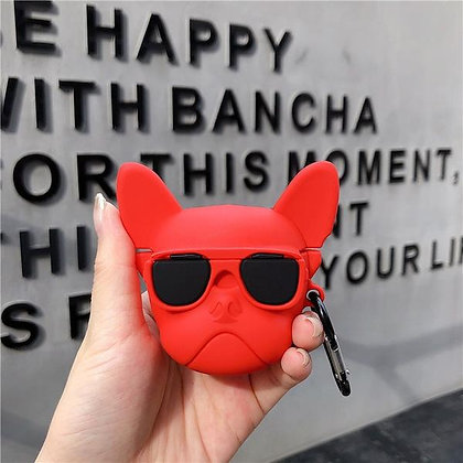 AirPods Pro Case - French Bulldog - Red