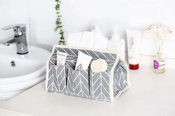 Tissue Box Organizer - Grey