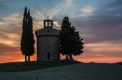 San Quirico d'Orcia, Toskana